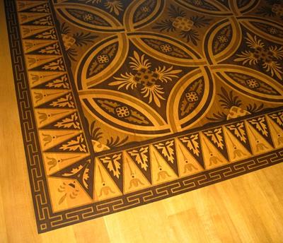 INTARZIE - Ornamenty a bordury