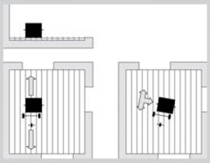 Ukázka broušení dřevěných podlah